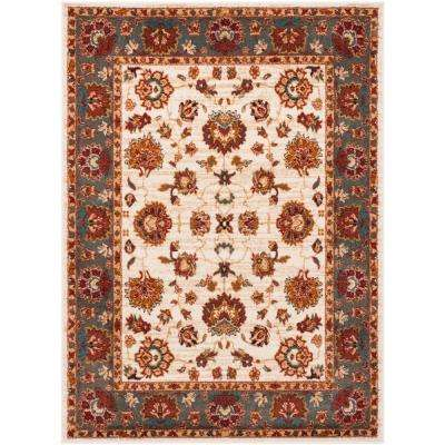 Summit Ivory/Gray 5 ft. 1 in. x 7 ft. 6 in. Area Rug