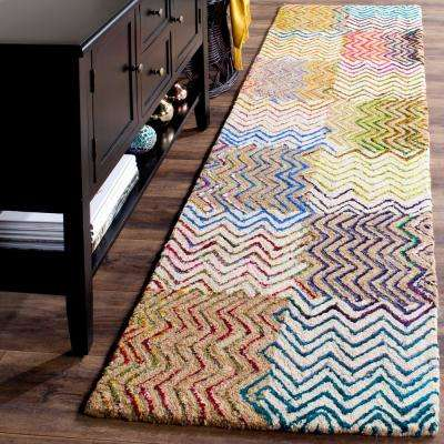 Nantucket Beige/Brown 2 ft. x 6 ft. Runner Rug