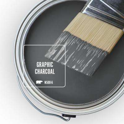 N500-6 Graphic Charcoal Paint