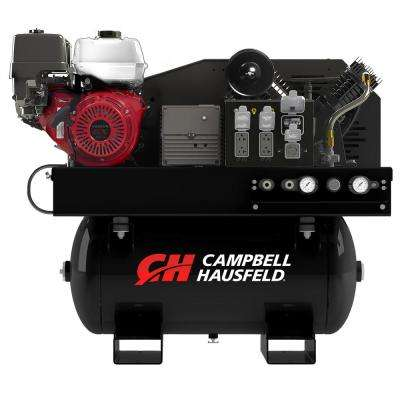 Air Compressor/Generator Combo Unit, 30 Gal. Stationary Gas Honda GX390 Engine 14CFM, 5000W Generator (GR2200)