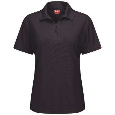 Women's Black Professional Polo