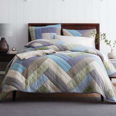 Kittery Yarn Dyed Cotton Quilt