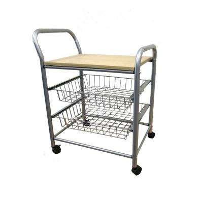 Home Decorators Collection 21 inch W Trolley Kitchen Cart