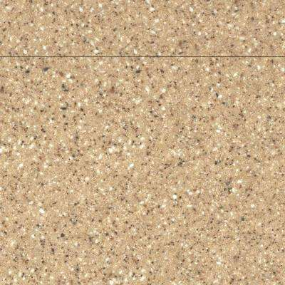 2 in. Solid Surface Countertop Sample in Granola