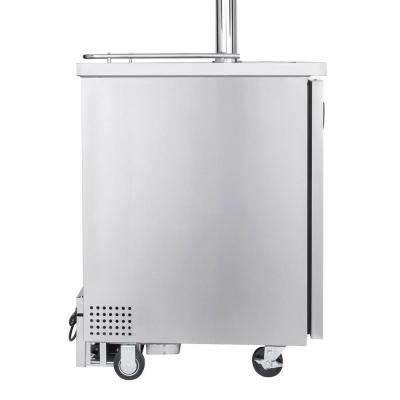 Commercial Grade 4 Tap Home Brew Beer Keg Dispenser with Homebrew Dispense Kit