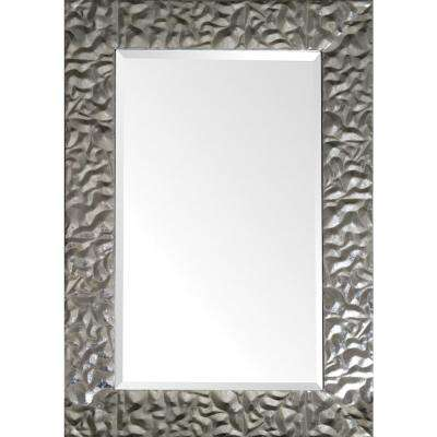 36 in. x 24 in. Venusia Framed Wall Mirror