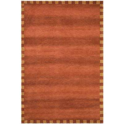 Tibetan Rust 8 ft. x 10 ft. Area Rug