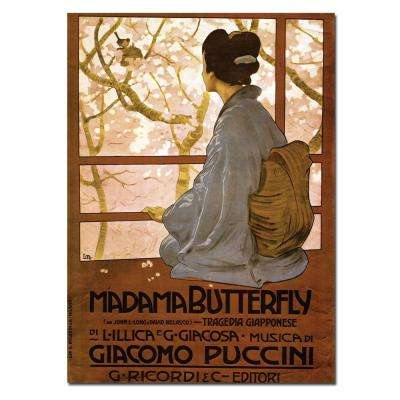 35 in. x 47 in. Giacamo Puccini Madam Butterfly Canvas Art