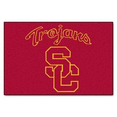 University of Southern California 19 in. x 30 in. Accent Rug