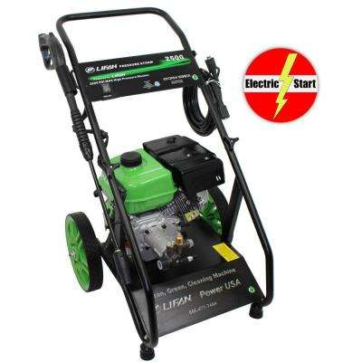 Pressure Storm Series 2,500 psi 2.0 GPM AR Axial Cam Pump Electric Start Gas Pressure Washer with Panel Mounted Controls