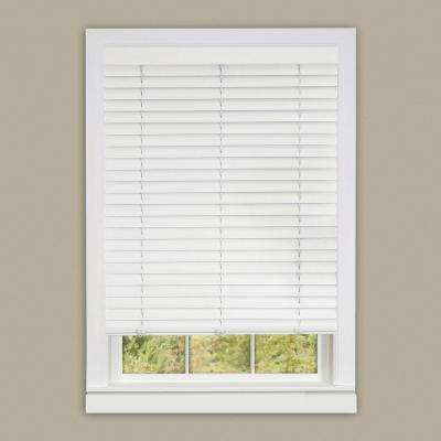 Cordless 2 in. Vinyl Luna Venetian Blind 64 in.