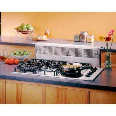 RMDD 30 in. 500 CFM Telescopic Downdraft System in Stainless Steel