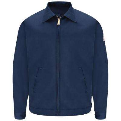 EXCEL FR Men's Navy Zip-In/Zip-Out Jacket
