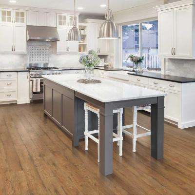 Outlast+ Waterproof Prairie Ridge Oak 10 mm T x 6.14 in. W x 54.33 in. L Laminate Flooring (20.86 sq. ft. / case)