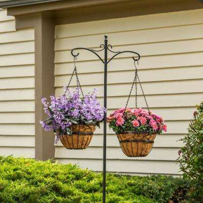 84 in. Deluxe Double Shepherd Hook