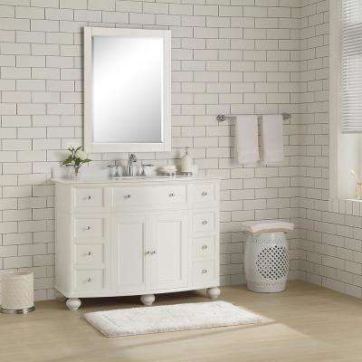 white bathroom vanities bath the home depot rh homedepot com