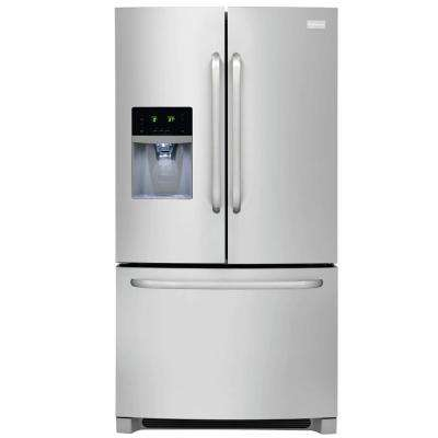 27.19 cu. ft. French Door Refrigerator in Stainless Steel