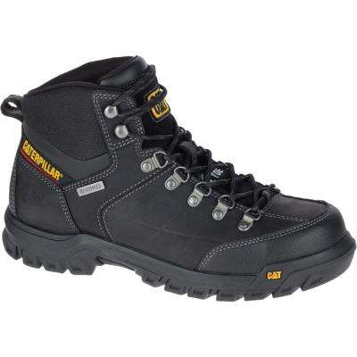 Threshold Men's Black Waterproof Steel Toe Boots
