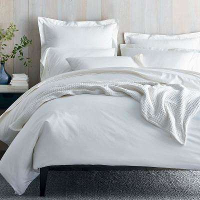 Organic 300-Thread Count Cotton Sateen Duvet Cover