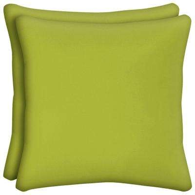 Luxe Outdoor Throw Pillow (2-Pack)