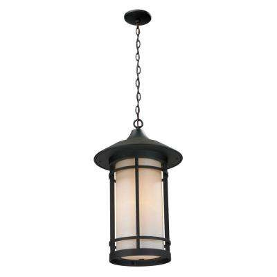 Grove Black Outdoor Pendant