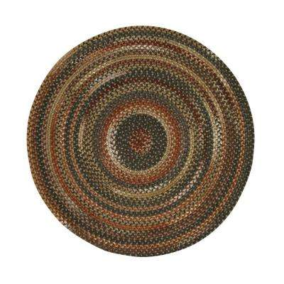 Applause Chestnut 5 ft. 6 in. Round Area Rug