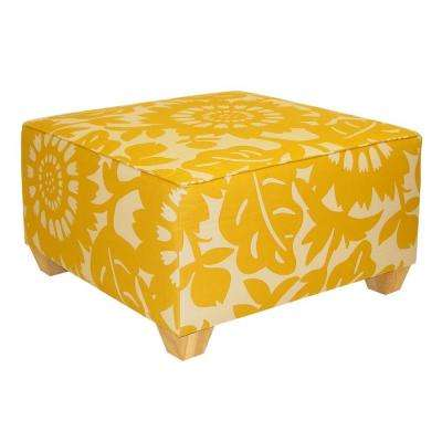 Georgetown Sungold Accent Ottoman