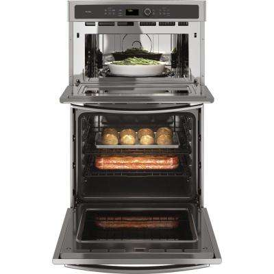 Profile 27 in. Built-In Combination Convection Microwave Wall Oven in Stainless Steel