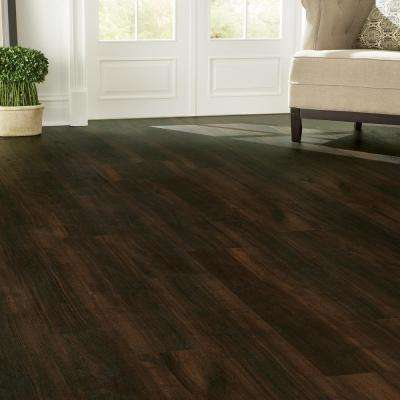 Allure Ultra 7.5 in. x 47.6 in. Espresso Oak Luxury Vinyl Plank Flooring (19.8 sq. ft. / case)