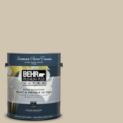 Home Decorators Collection 1-gal. #HDC-NT-18 Yuma Sand Satin Enamel Interior Paint
