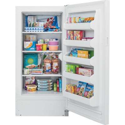 12.8 cu. ft. Upright Freezer in White