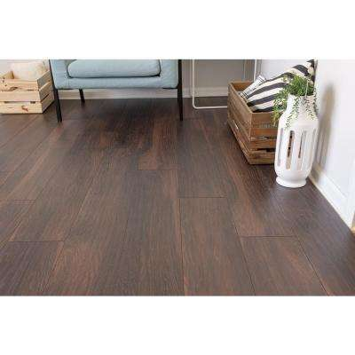 Hillborn Hickory 12mm Thick x 8.03 in. Wide x 47.64 in. Length Laminate Flooring (15.94 sq. ft. / case)