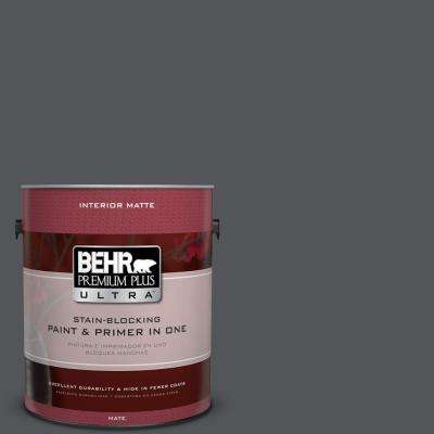 1 gal. #N510-6 Orion Gray Matte Interior Paint