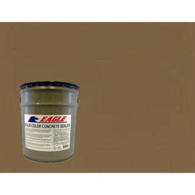 5 gal. Chocolate Solid Color Solvent Based Concrete Sealer