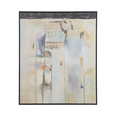 "48 in. x 40 in. ""Mirage"" Framed Canvas Wall Art"