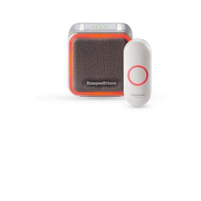 Series 5 Portable Wireless Doorbell with Halo Light and Push Button