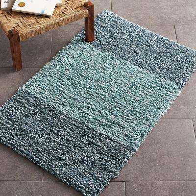 Melange Chunky Loop Cotton Bath Rug