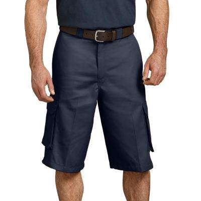 "Men's Dark Navy 13"" Loose Fit Cargo Short"