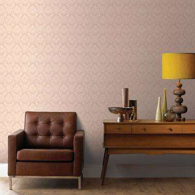 Beige - Textured - Vinyl - Wallpaper - Decor - The Home Depot