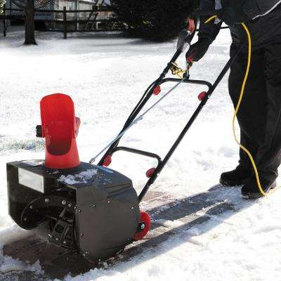 MAX 18 in. 13.5 Amp Single Stage Electric Snow Blower with Light