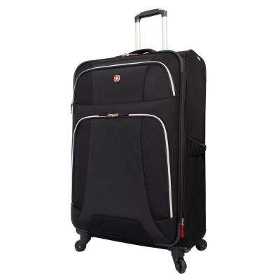 Monte Leone 29 in. Black Spinner Suitcase
