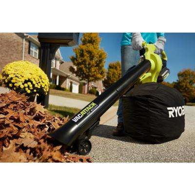 40-Volt Lithium-Ion Cordless Leaf Vacuum/Mulcher- 4.0 Ah Battery and Charger Included