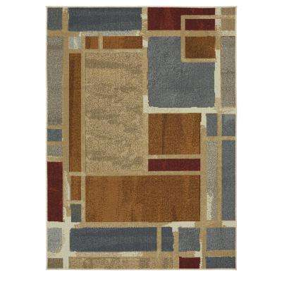 Regnar Multi 5 ft. x 7 ft. Area Rug