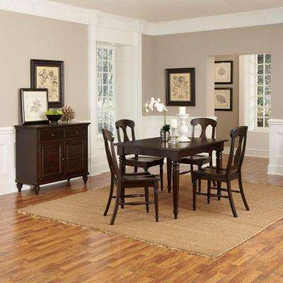 Espresso Rectangular Wood Dining Table