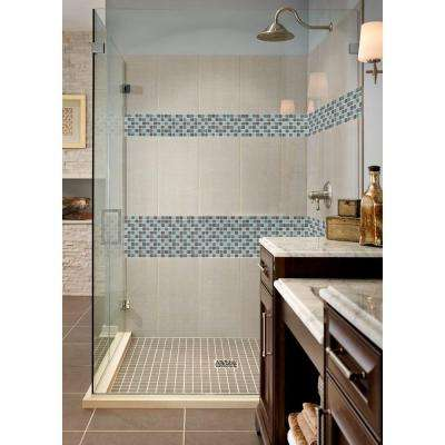 Majestic Ocean 12 in. x 12 in. x 4 mm Polished Glass Mesh-Mounted Mosaic Tile (20 sq. ft./case)