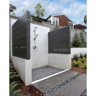 Sliced Pebble Coal 11.81 in. x 11.81 in. x 10mm Tumbled Marble Mesh-Mounted Mosaic Tile (9.7 sq. ft. / case)