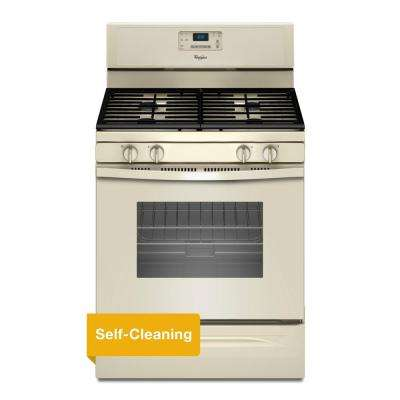 5.0 cu. ft. Gas Range with Self-Cleaning Oven in Biscuit