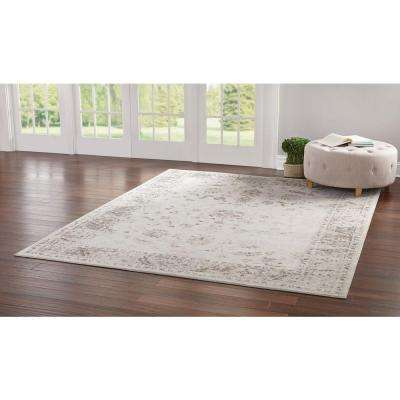 Old Treasures Beige 2 ft. x 7 ft. Runner Rug
