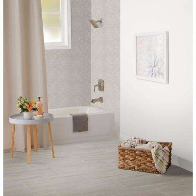 Nova Falls Gray 12 in. x 24 in. Porcelain Floor and Wall Tile (15.6 sq. ft. / case)