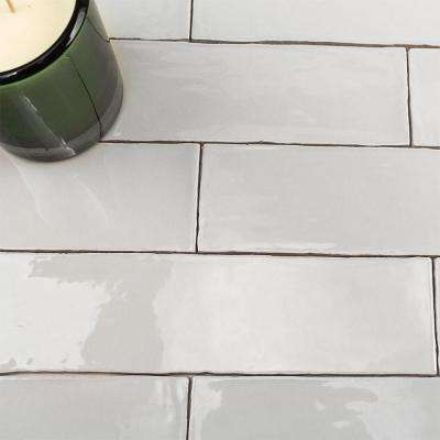 Catalina Gris 3 in. x 12 in. x 8 mm Polished Ceramic Subway Wall Tile (10.76 sq.ft./case)